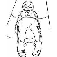 disegno di Gara di Bob da colorare