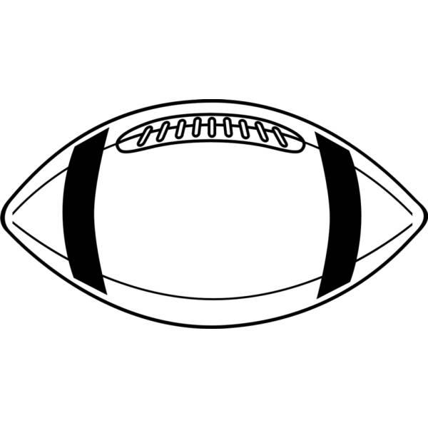 Disegno di Pallone da Football da colorare
