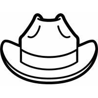 Disegno di Il Cappello da colorare