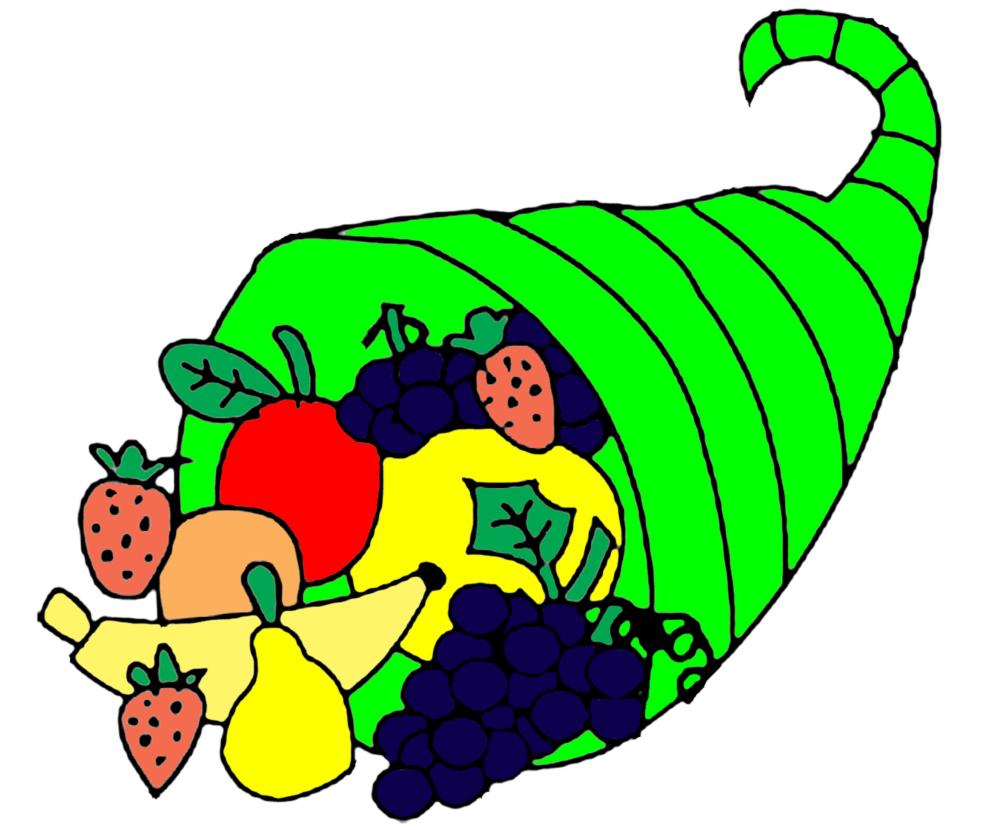 Stampa disegno di cesto di frutta a colori for Cesto di frutta disegno