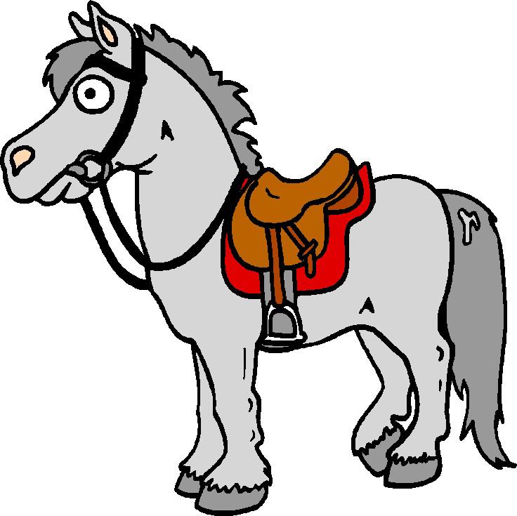 Stampa disegno di cavallo a colori for Cavallo da disegnare per bambini