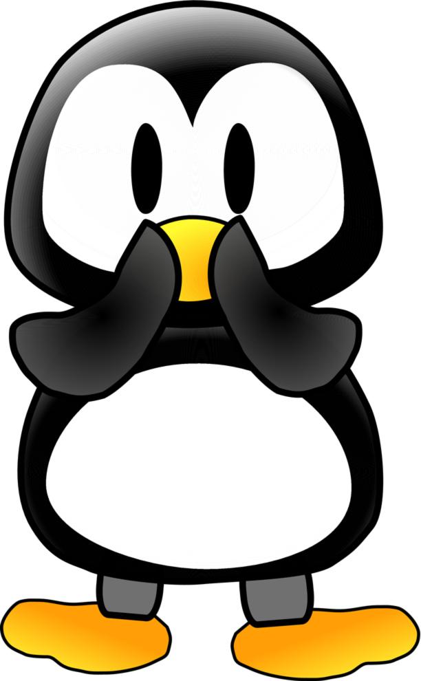 Stampa disegno di il pinguino a colori for Disegno pinguino colorato