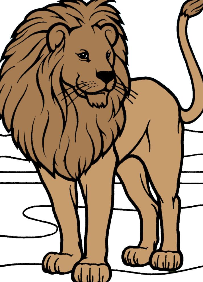 Disegni da colorare per bambini leone l 39 idea migliore e for Costruzione di disegni online