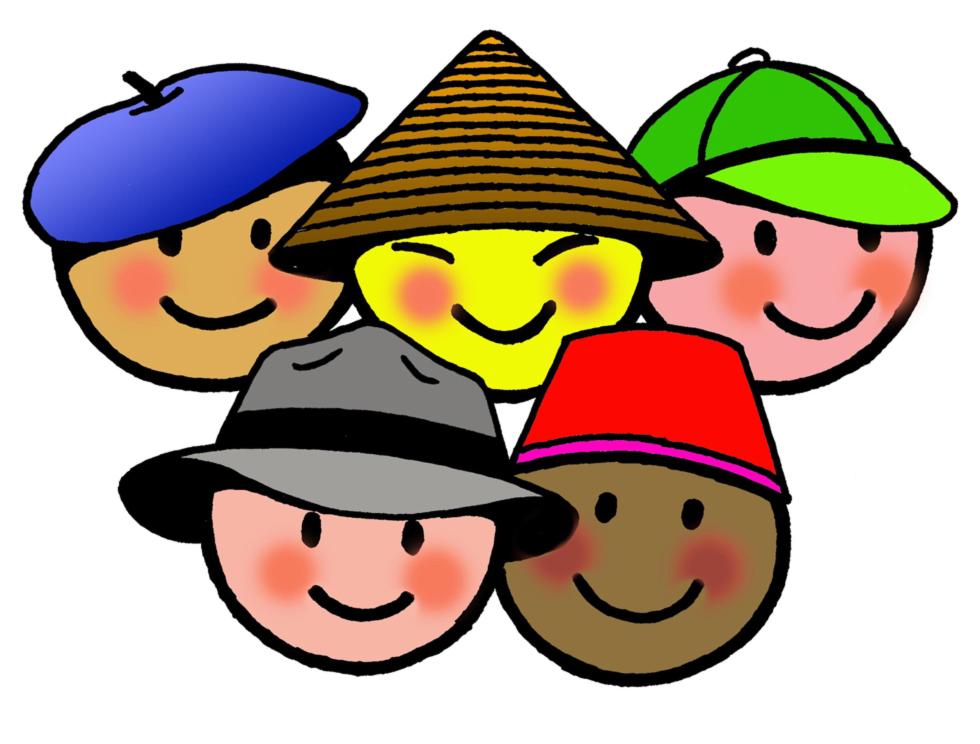 Stampa disegno di bimbi di tutto il mondo a colori - Immagine del mouse a colori ...