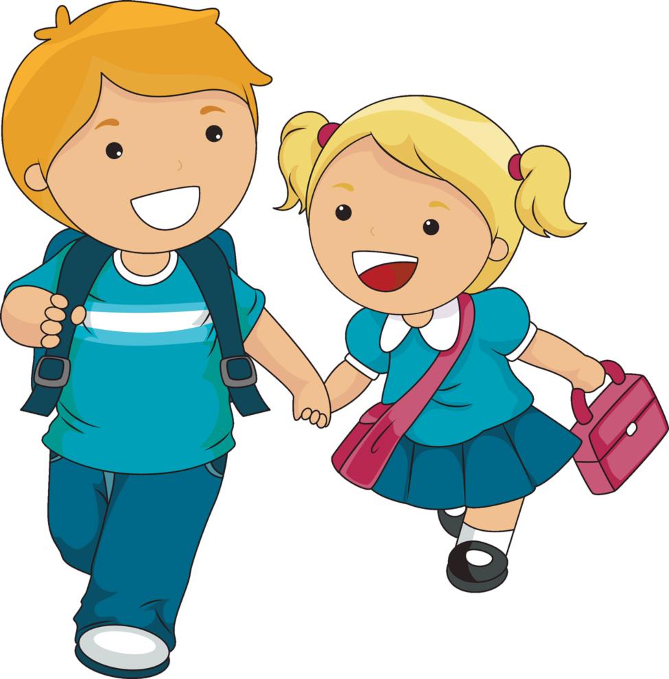 disegno di Bambini delle Elementari a colori