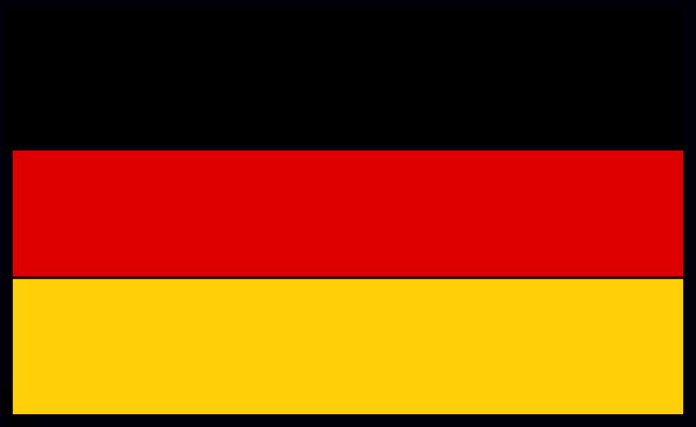 Stampa disegno di bandiera tedesca a colori - Bandiera della pagina di colorazione della germania ...