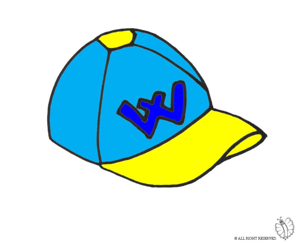 Stampa disegno di cappellino a colori - Immagini di tacchini a colori ...