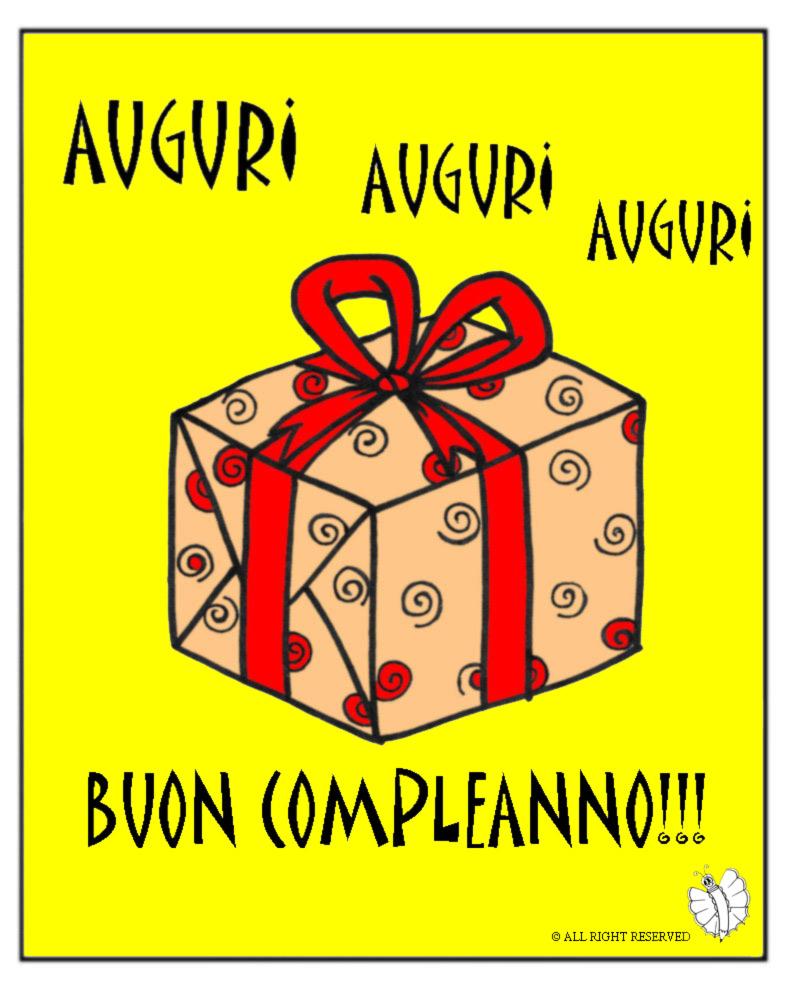 Stampa disegno di biglietto buon compleanno a colori - Buon compleanno da colorare immagini da colorare ...