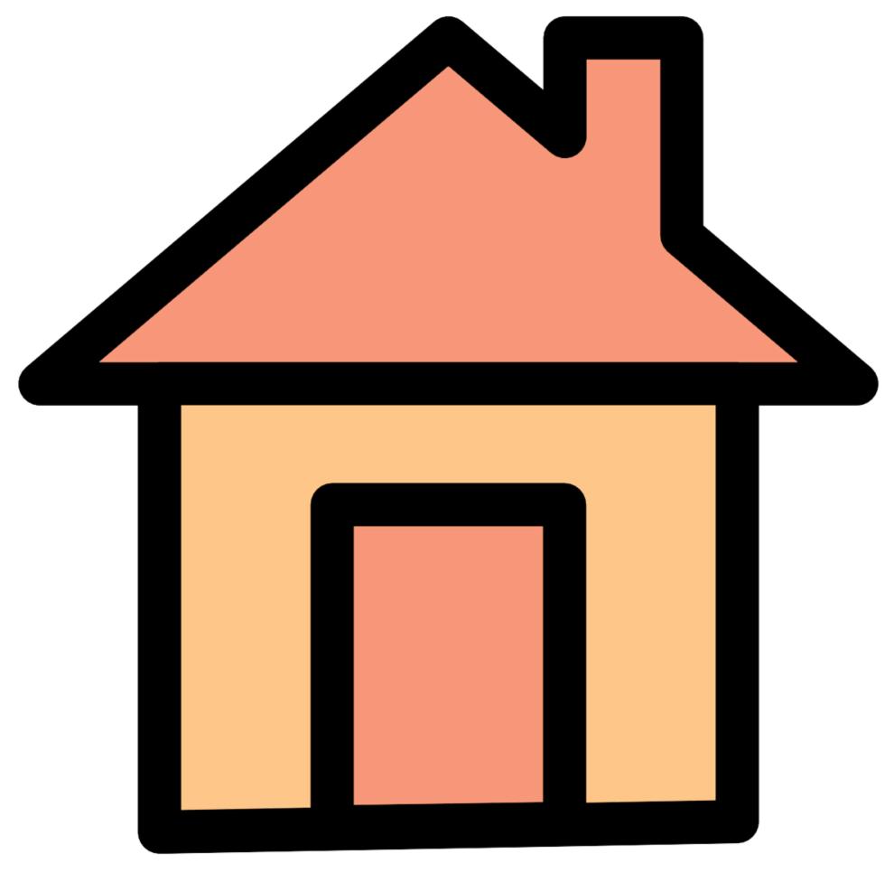 Stampa disegno di casa a colori for Disegni di casa francese
