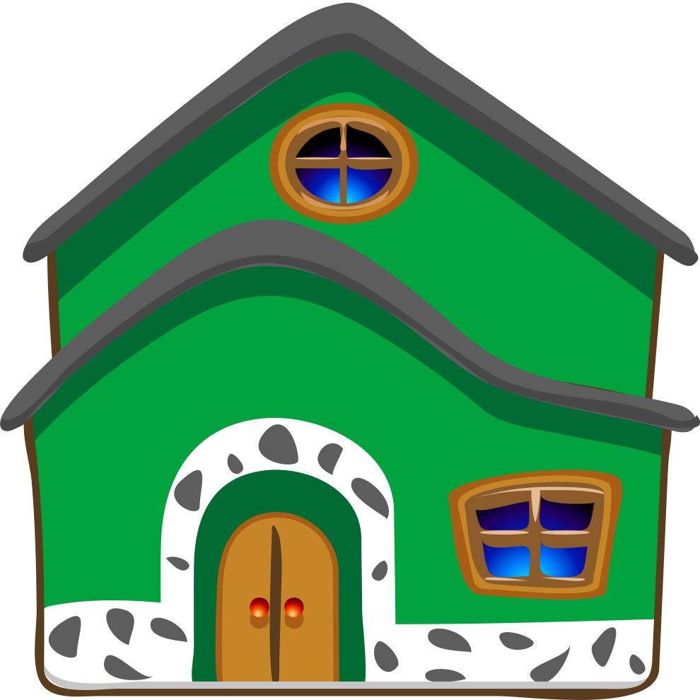 Stampa disegno di la casa a colori for Casa disegno