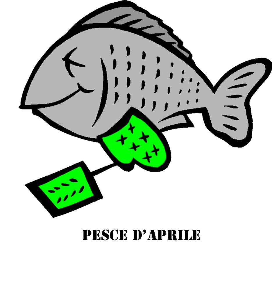 Stampa disegno di pesce di aprile a colori for Immagini da colorare di pesci