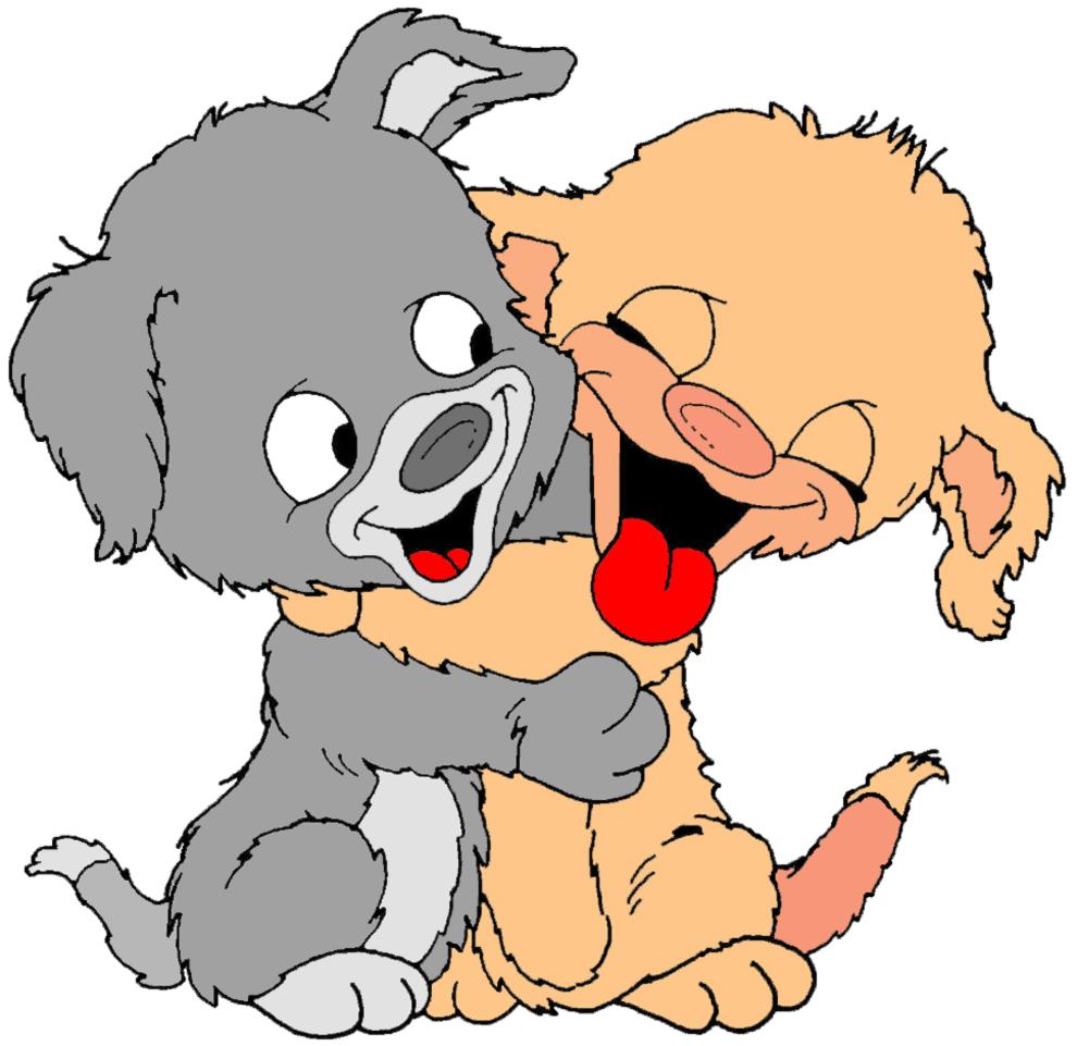 Stampa disegno di teneri cuccioli a colori - Immagini di marmellata di animali a colori ...