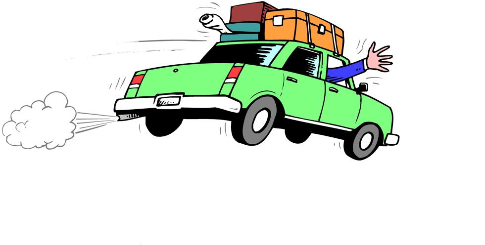 Stampa disegno di in vacanza a colori for Disegni di case vacanza