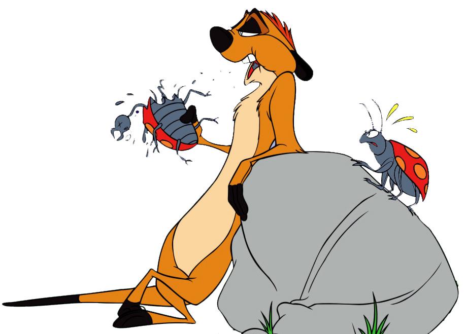 disegno di Pumbaa Il Re Leone a colori