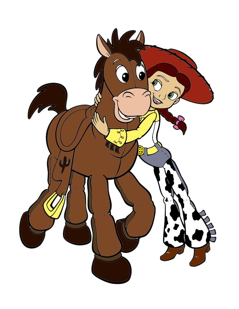 disegno di Jessie  Toy Story a colori
