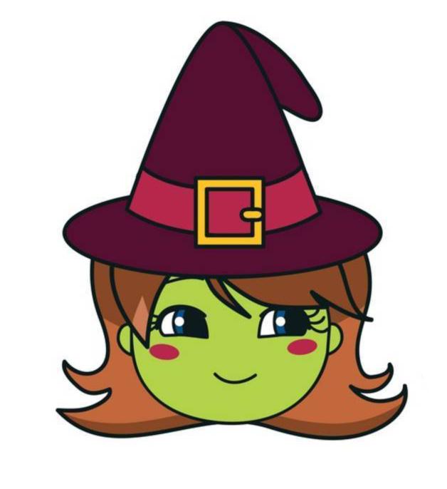 Stampa disegno di cappello di halloween a colori for Disegni di scantinati di sciopero