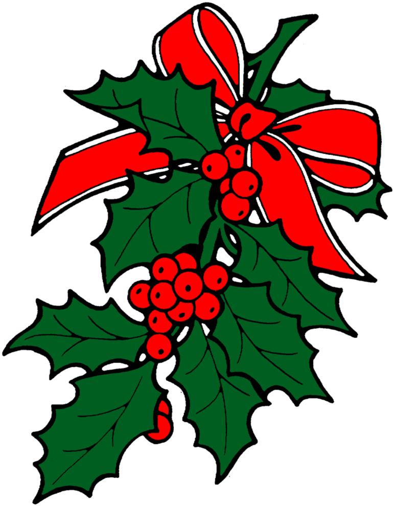 Stampa disegno di decorazioni natalizie a colori for Disegni di natale colorati da stampare