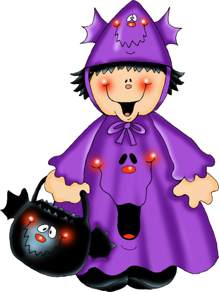 disegno di Costume di Halloween a colori