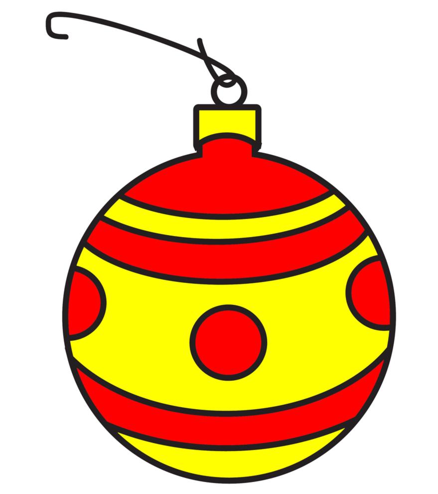 Disegni Di Palline Di Natale Da Colorare.Palla Di Natale Da Colorare Pagina Da Colorare Immagini Da