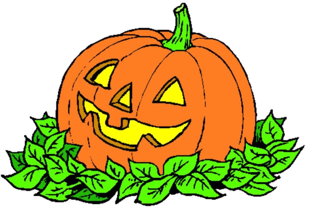 Stampa disegno di la zucca di halloween a colori for Immagini zucca di halloween