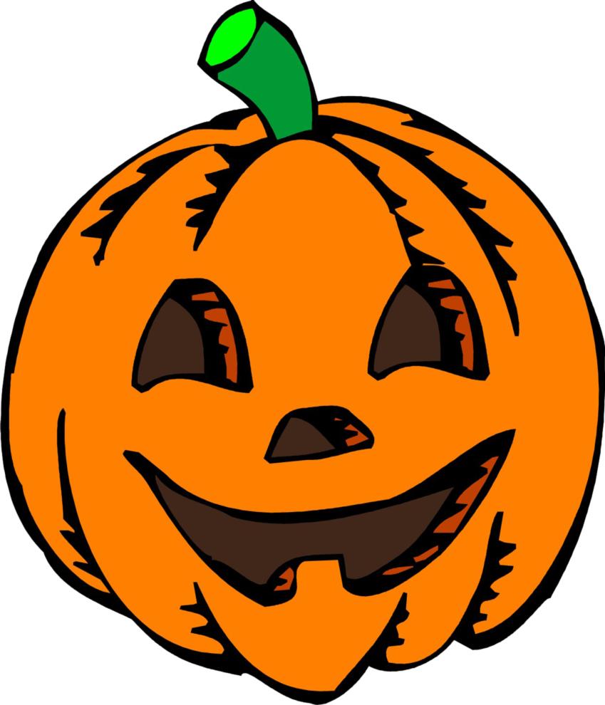 disegno di Zucca di Halloween a colori