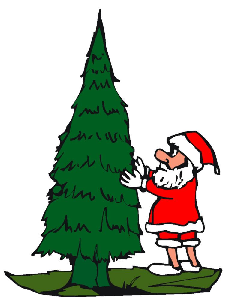 disegno di Addobbare l'Albero di Natale a colori