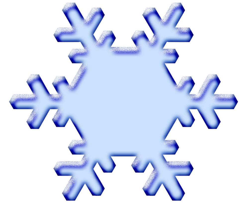 Stampa disegno di neve a colori - Immagini a colori di natale gratis ...