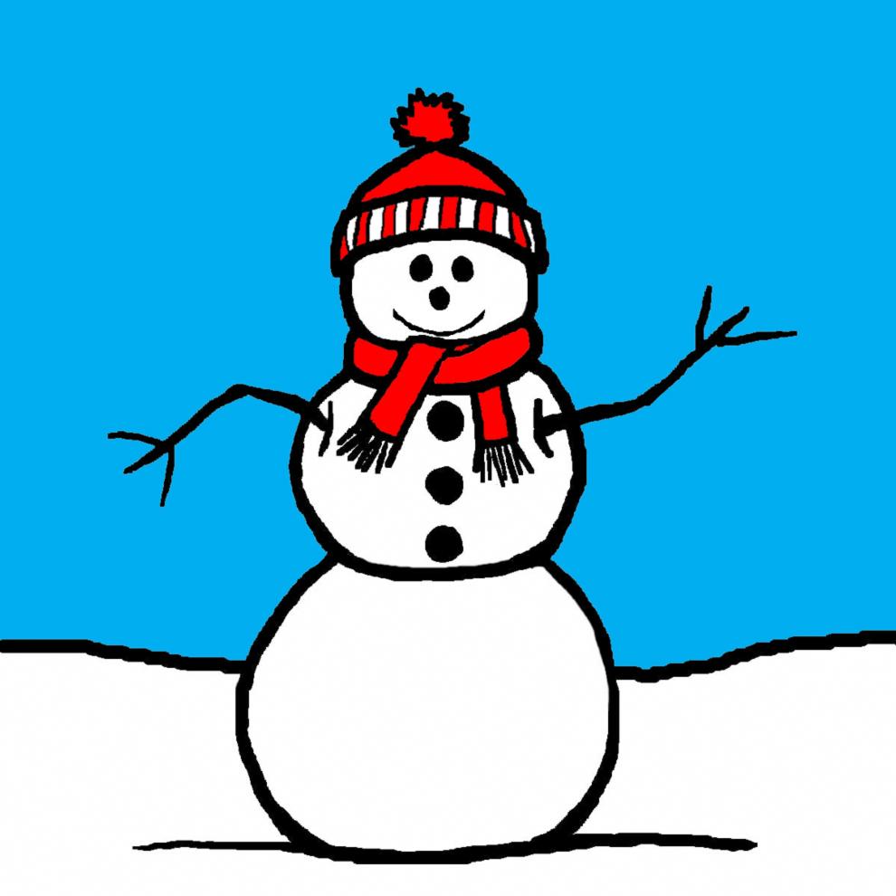disegno di Il Pupazzzo di Neve a colori