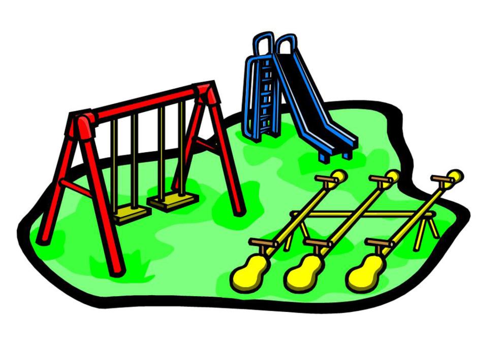 disegno di Parco Giochi a colori