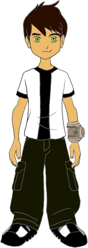disegno di Ben Ten Cartone Animato a colori