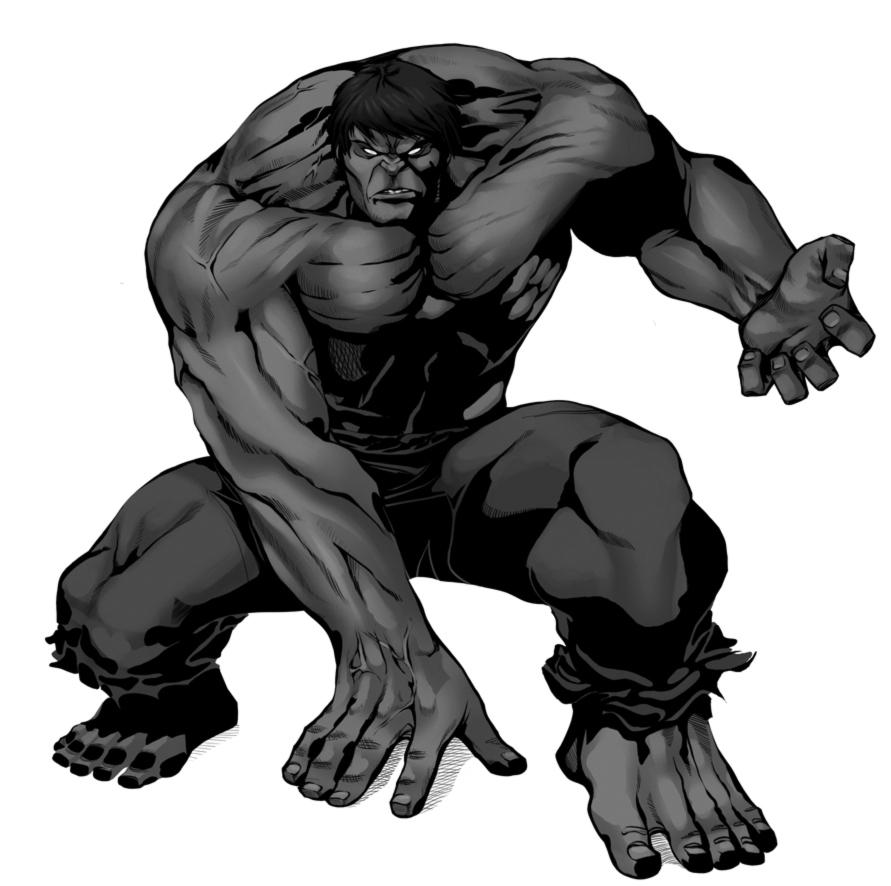 disegno di Incredibile Hulk a colori