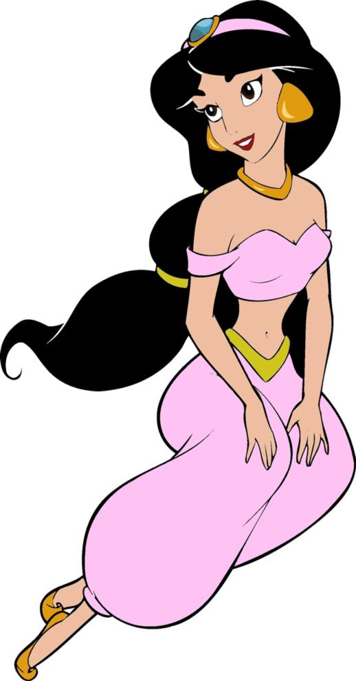 disegno di Principessa Jasmine a colori