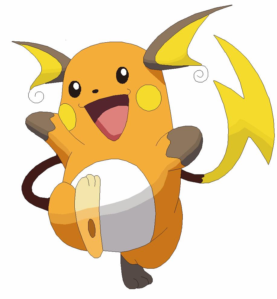disegno di Raichu Pokemon a colori
