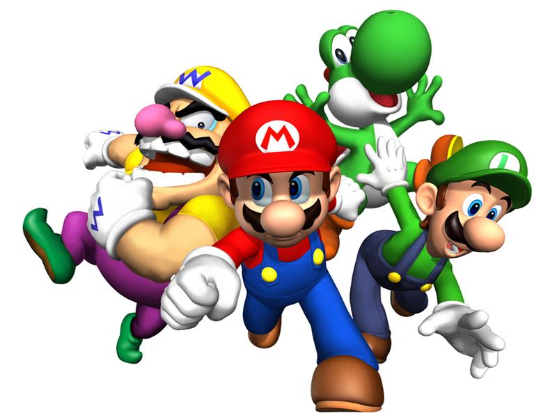 disegno di Super Mario a colori