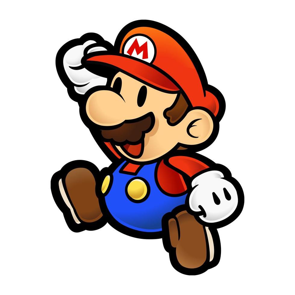 disegno di Mario Bros a colori