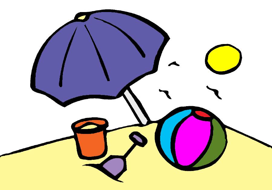 Stampa disegno di spiaggia a colori for Disegni della casa sulla spiaggia