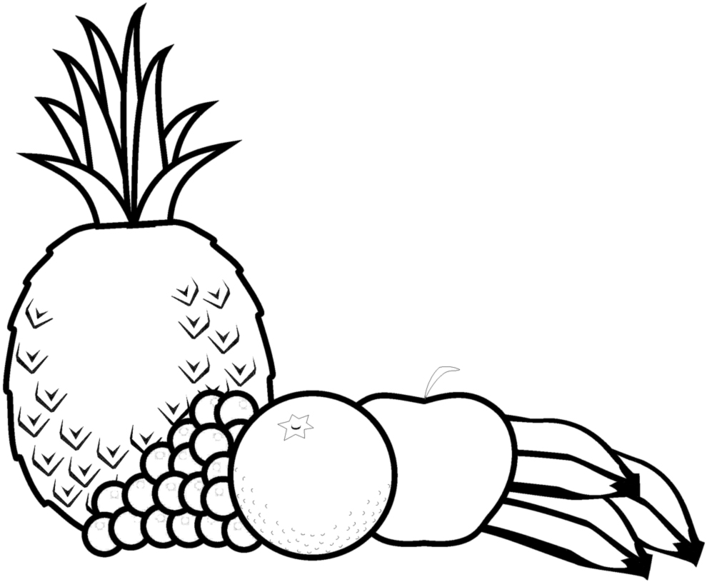 Nuovo Disegni Di Frutta Da Colorare E Stampare Migliori Pagine Da