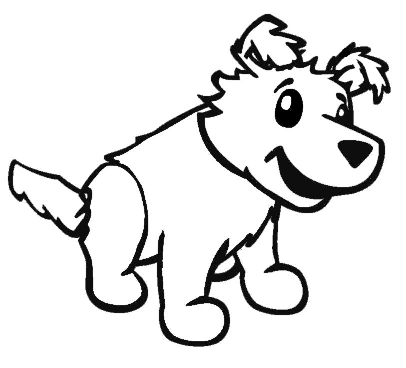 Bello disegni da colorare e stampare cuccioli di cane for Cane da colorare e stampare