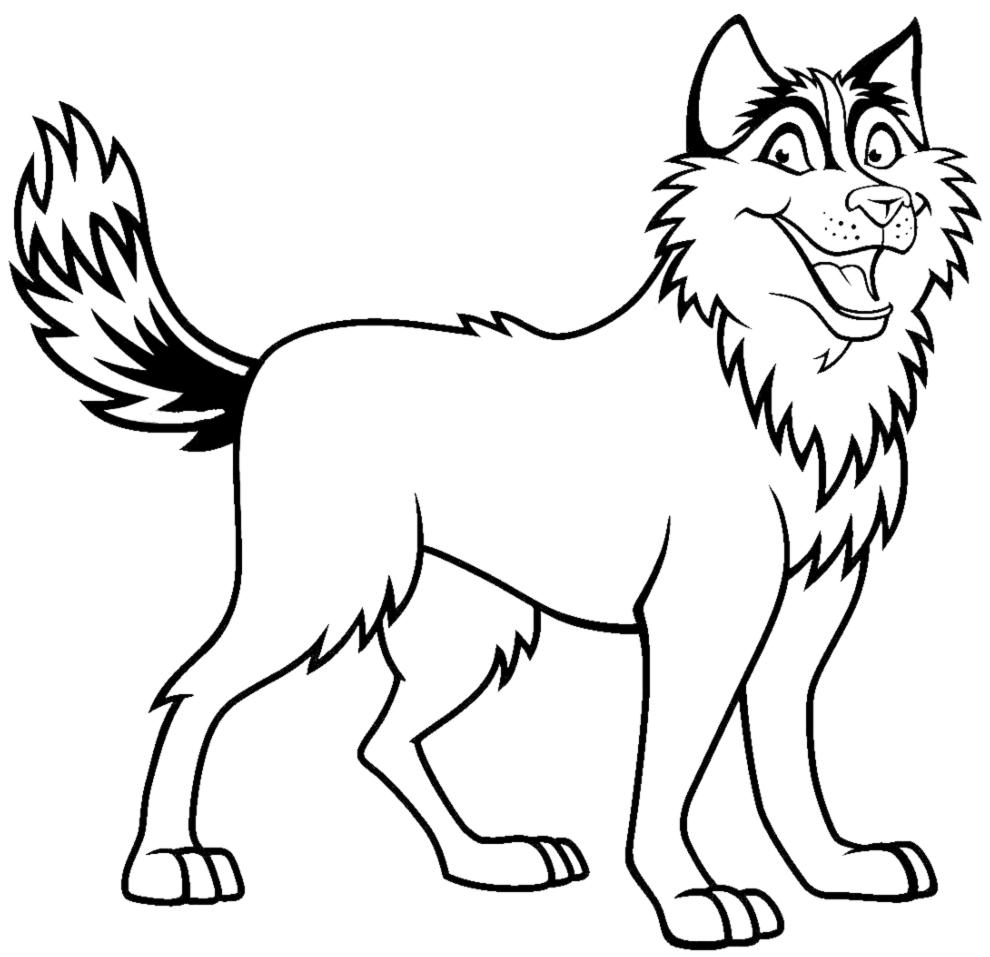 Lusso Disegni Cuccioli Di Cane Da Colorare Migliori Pagine Da
