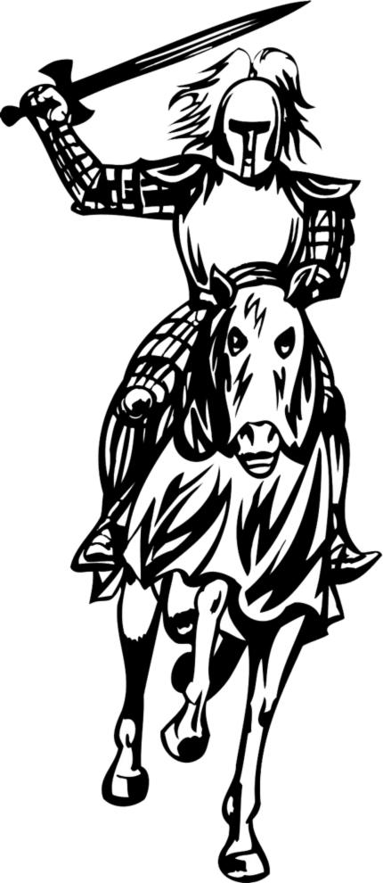 Stampa disegno di cavaliere da colorare - Cavaliere libro da colorare ...