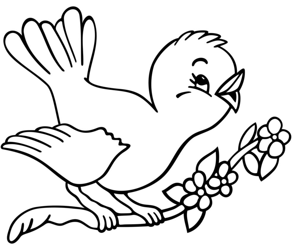 Disegni di primavera da colorare e stampare for Disegno pagliaccio da colorare