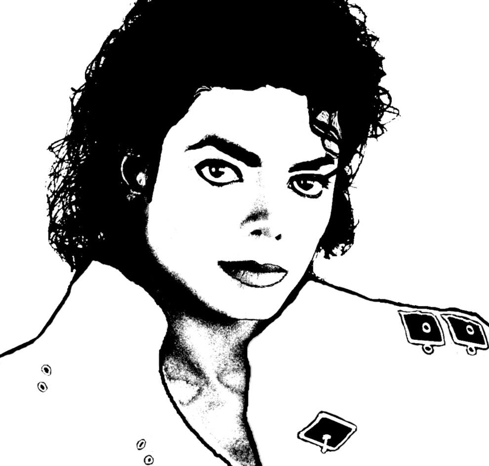 Smiles Triste Colouring Pages E Michael Jackson Colouring