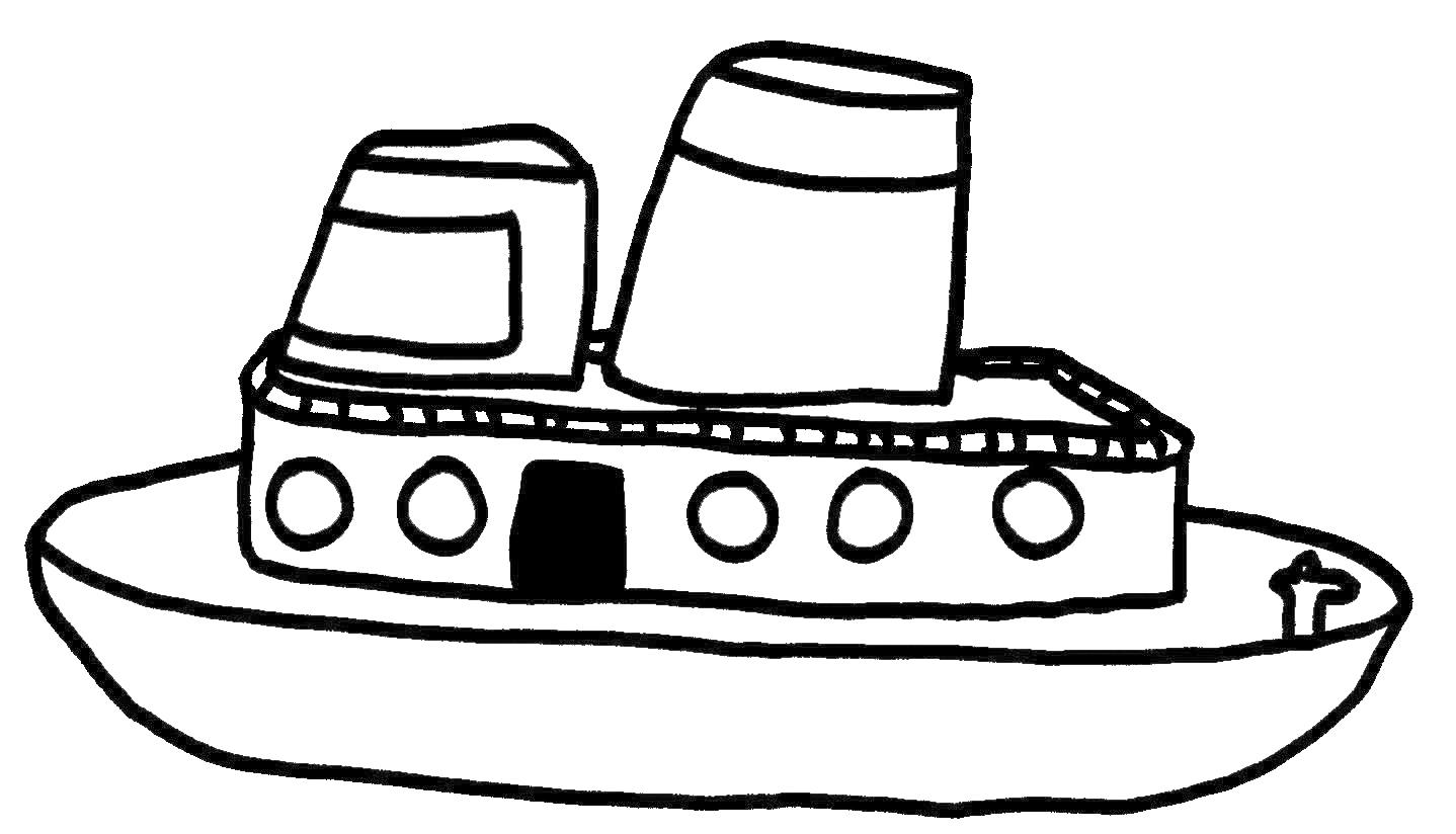 Nave Disegno Da Colorare