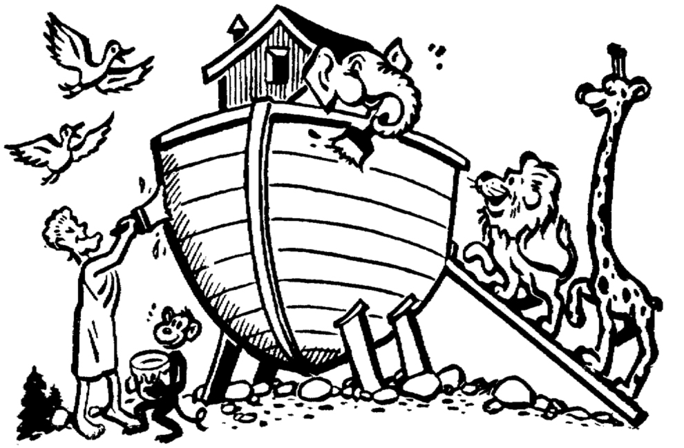 Arca Di Noe Da Colorare.Stampa Disegno Di Arca Di Noe Da Colorare