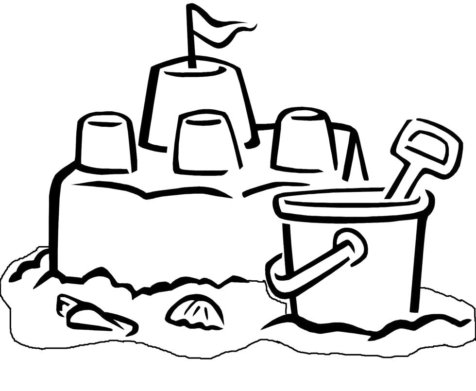 Stampa disegno di il castello di sabbia da colorare - Immagini di spongebob e sabbia ...
