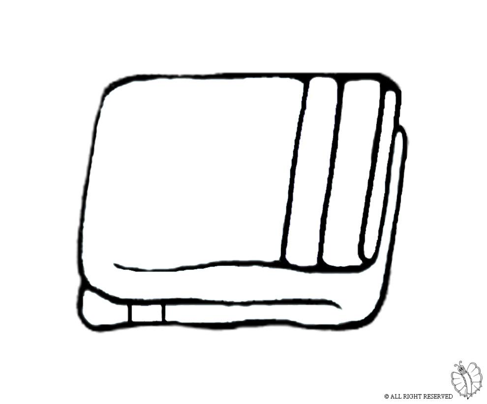 Stampa disegno di asciugamani da colorare for Immagine di un disegno di architetto