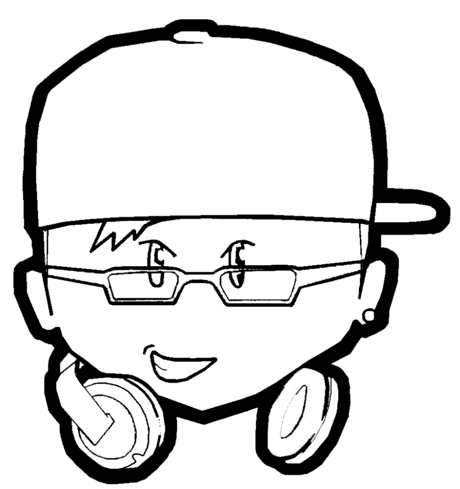 ni?os dj Colouring Pages