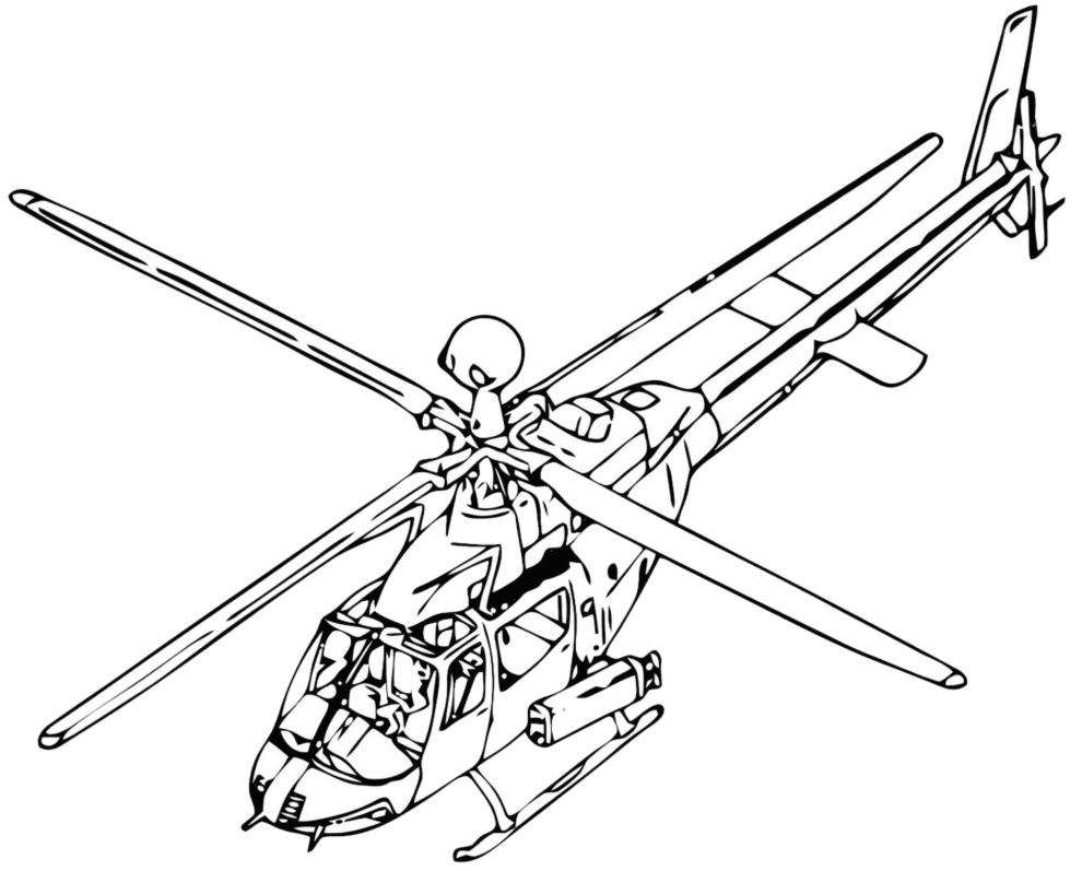 Elicottero Immagini Per Bambini : Stampa disegno di elicottero da colorare