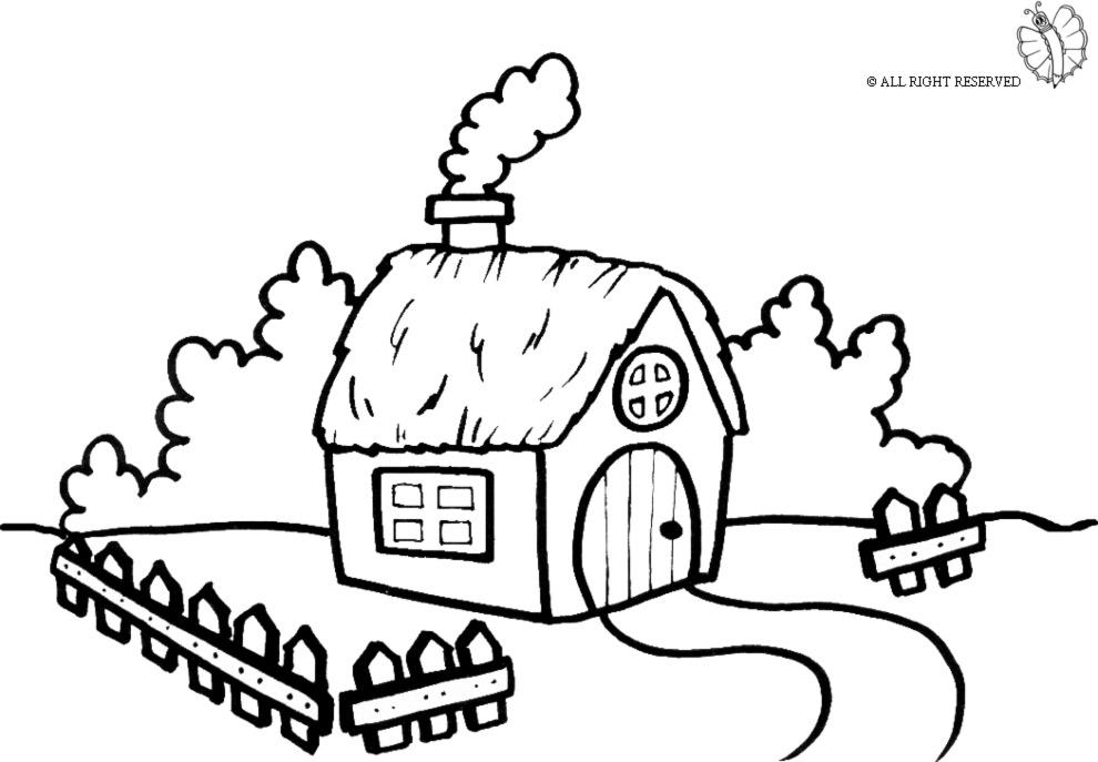 Case da colorare bing images for Simulatore di costruzione di case online