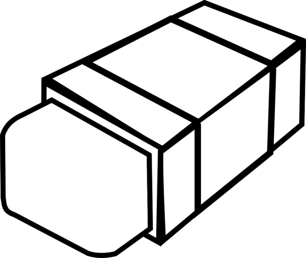 Stampa disegno di gomma per cancellare da colorare for Disegno giardino da colorare